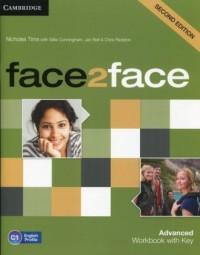 face2face. Advanced Workbook with Key. C1 - okładka podręcznika