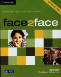 face2face. Advanced Workbook without key. C1 - okładka podręcznika