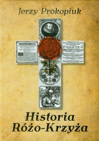 Historia Różo-Krzyża - okładka książki