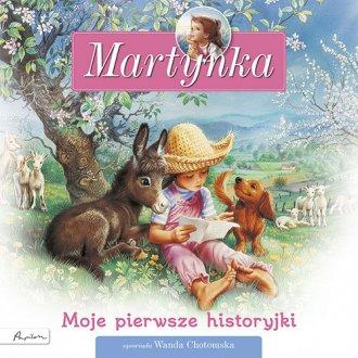 Martynka. Moje pierwsze historyjki - okładka książki