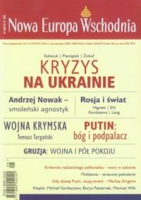 Nowa Europa Wschodnia 3-4/2014 - okładka książki