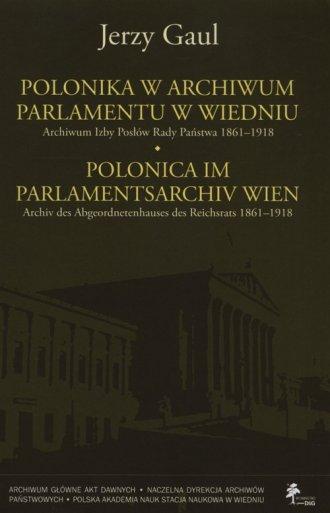 Polonika w archiwum parlamentu - okładka książki