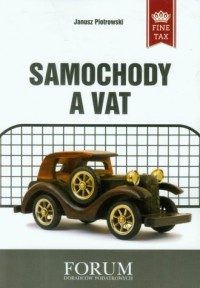 Samochody a VAT - okładka książki