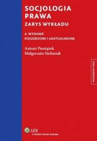Socjologia prawa. Zarys wykładu - okładka książki