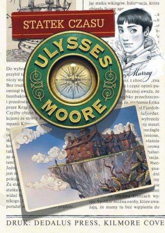 Ulysses Moore. Tom 13. Statek czasu - okładka książki