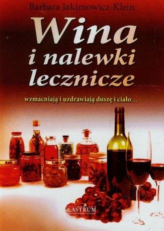 Wina i nalewki lecznicze - okładka książki
