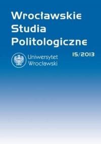 Wrocławskie Studia Politologiczne 15/2013. Polityka społeczna - okładka książki