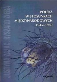 Polska w stosunkach międzynarodowych - okładka książki