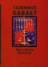 Tajemnice kabały - Marc-Alain Ouaknin - okładka książki