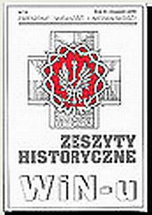 Zeszyty Historyczne Win-u nr 17 - okładka książki