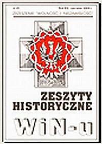 Zeszyty Historyczne Win-u nr 23 (czerwiec 2005) - okładka książki