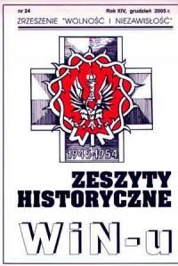 Zeszyty Historyczne Win-u nr 24 (grudzień 2005) - okładka książki