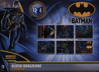 Batman. Klocki obrazkowe (12- elem.) - zdjęcie zabawki, gry