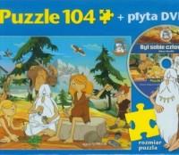 Był sobie człowiek. Prehistoria (puzzle 104-elem. + DVD) - zdjęcie zabawki, gry