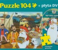 Byli sobie podróżnicy. Żeglarze (puzzle 104-elem. + DVD) - zdjęcie zabawki, gry