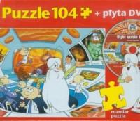 Było sobie życie. Centrum Dowodzenia (puzzle 104-elem. + DVD) - zdjęcie zabawki, gry