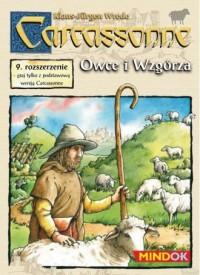 Carcassone 9. Owce i wzgórza - zdjęcie zabawki, gry