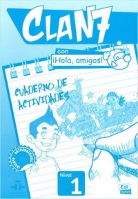 Clan 7 con Hola amigos 1. Język - okładka podręcznika