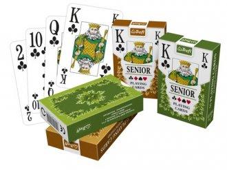 Classic Senior karty standardowe - zdjęcie zabawki, gry