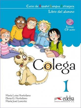 Colega 1. Język hiszpański. Szkoła - okładka podręcznika