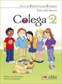 Colega 2. Język hiszpański. Szkoła - okładka podręcznika