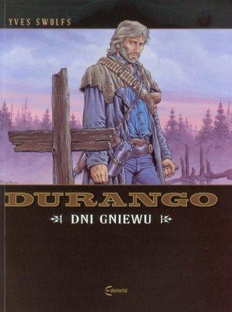 Durango. Dni gniewu - okładka książki