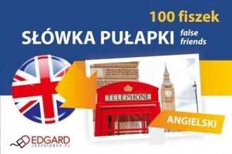 Język angielski. 100 Fiszek. Słówka - okładka podręcznika