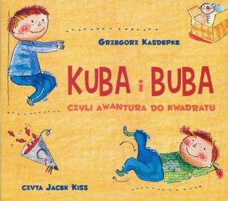 Kuba i Buba czyli awantura do kwadratu - pudełko audiobooku