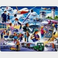 Lotnictwo (puzzle 42-elem.) - zdjęcie zabawki, gry