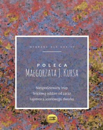 Małgorzata J.Kursa poleca - pudełko audiobooku