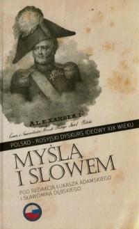 Myślą i słowem. Polsko-rosyjski - okładka książki