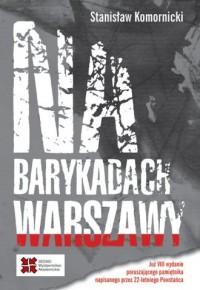 Na barykadach Warszawy - okładka książki