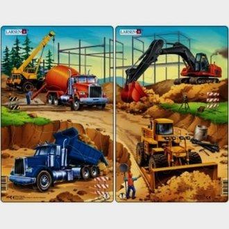 Na budowie (puzzle 20-elem.) - zdjęcie zabawki, gry