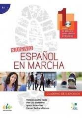 Nuevo Espanol en marcha 1. Ćwiczenia - okładka podręcznika