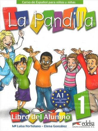 Pandilla 1. Język hiszpański. Podręcznik - okładka podręcznika