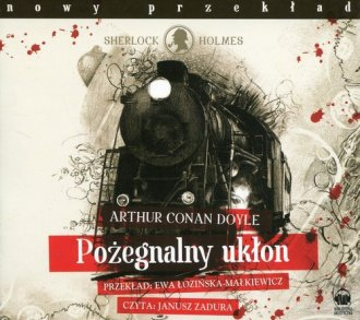 Pożegnalny ukłon (CD mp3) - pudełko audiobooku