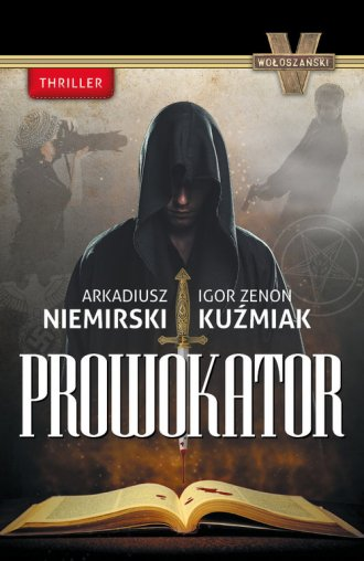 Prowokator - okładka książki