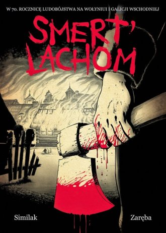 Smert Lachom - okładka książki
