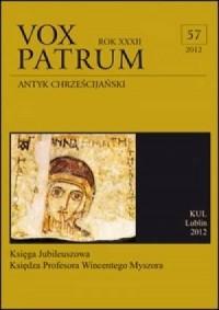 Vox Patrum. Tom 57 - okładka książki