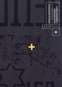 Żółta gwiazda i czerwony krzyż - okładka książki