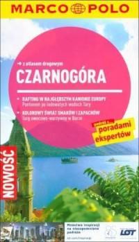 Czarnogóra. Przewodnik z atlasem drogowym - okładka książki