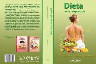 Dieta w osteoporozie - okładka książki