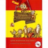 Espanol Con Juanito. La Familia. Język hiszpański dla dzieci (+ CD) - okładka podręcznika