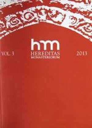 Hereditas Monasteriorum Vol. 3 - okładka książki