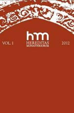 Hereditas Monasteriorum Vol. 1 - okładka książki