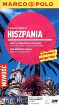 Hiszpania. Przewodnik z atlasem drogowym - okładka książki