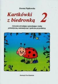 Kartkówki z biedronką 2. Ćwiczenia utrwalająco-sprawdzające wiedzę polonistyczną, matematyczną i społeczno-przyrodniczą - okładka podręcznika