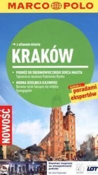 Kraków. Przewodnik z atlasem drogowym - okładka książki