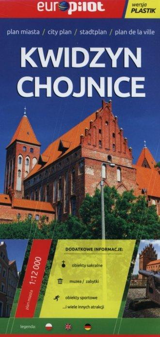 Kwidzyn, Chojnice. Plan miasta - okładka książki