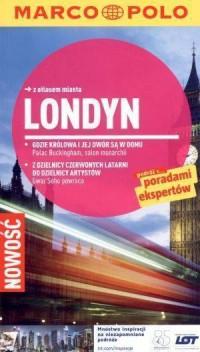 Londyn. Przewodnik z atlasem drogowym - okładka książki